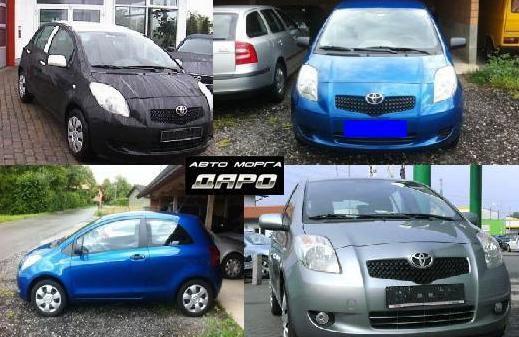 Toyota Yaris 2009 на части