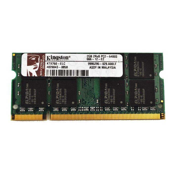 Memorie RAM Kingston 2GB DDR2 800MHz PC2-6400 SODIMM