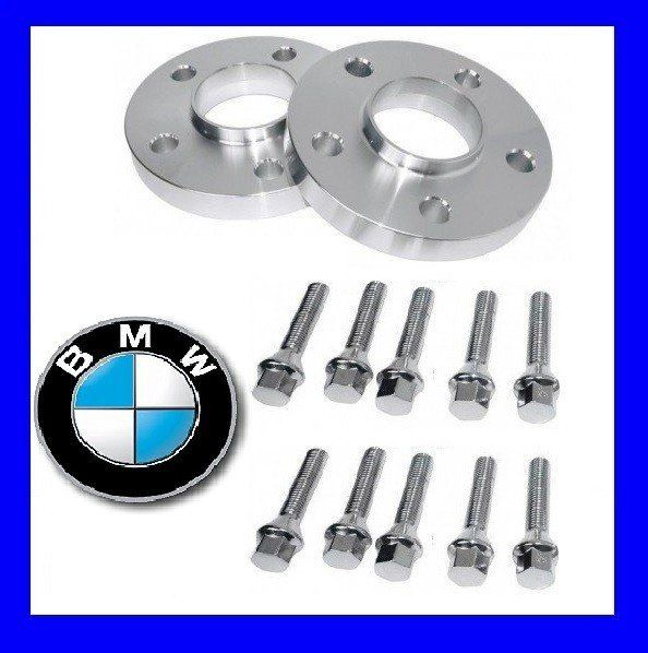 SET Distantiere Jante 5x120 20mm compatibil BMW + 10 Prezoane M12 M14