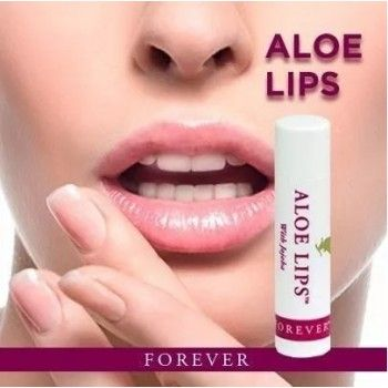 Protetor Labial Aloe Lips Forever Living 4,5g - Brilho e Proteção