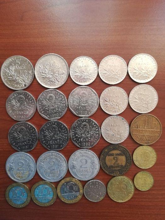 Монети от Европа, Америка и различни страни