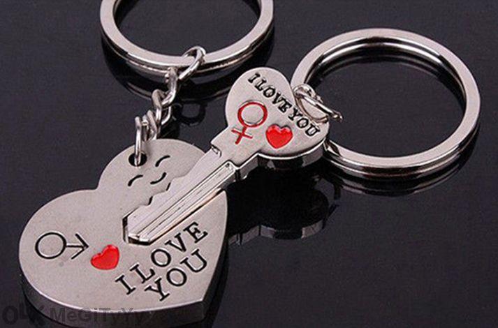 Романтични ключодържатели