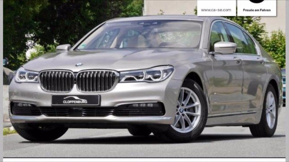 Jante BMW seria 7 G11 model nou 2016 Echipare iarna