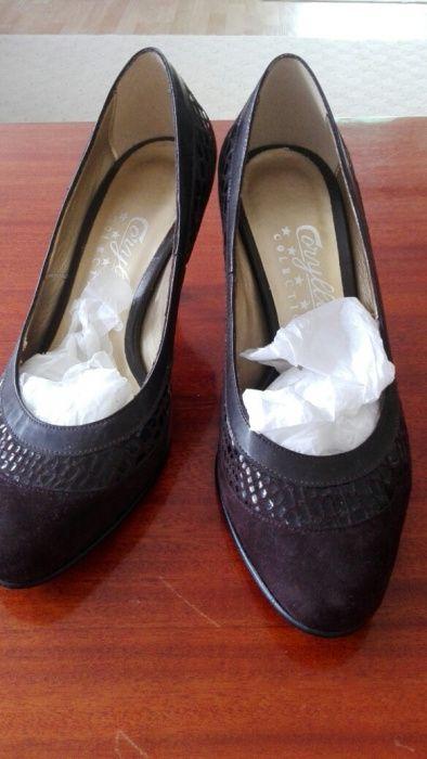 Pantofi noi piele Coryllus 35