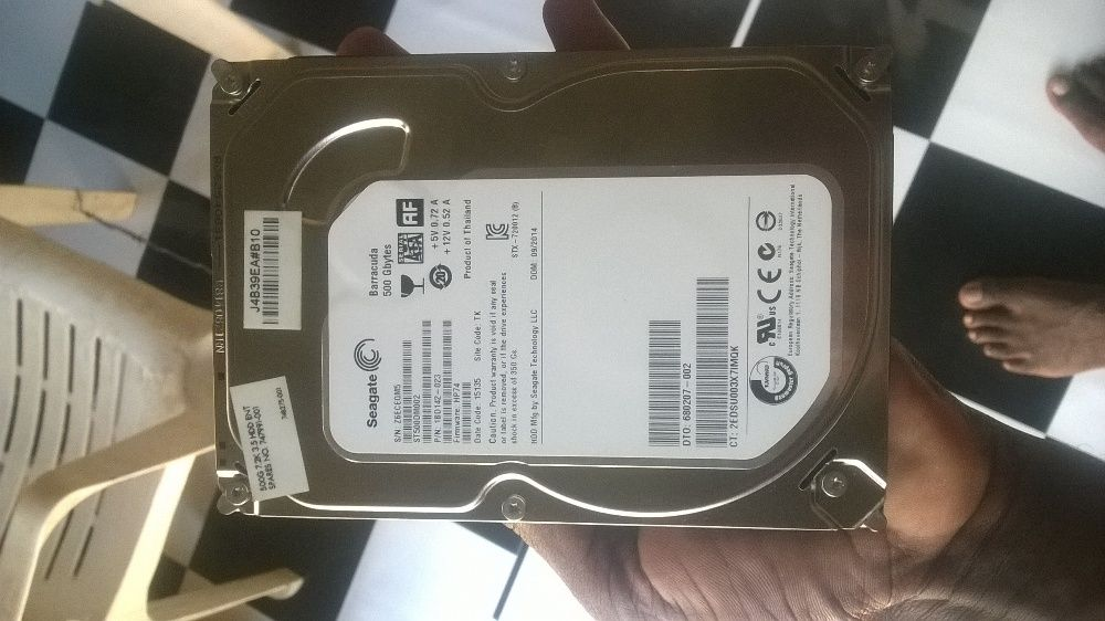 disco duro de 500gb pra pc ainda clean