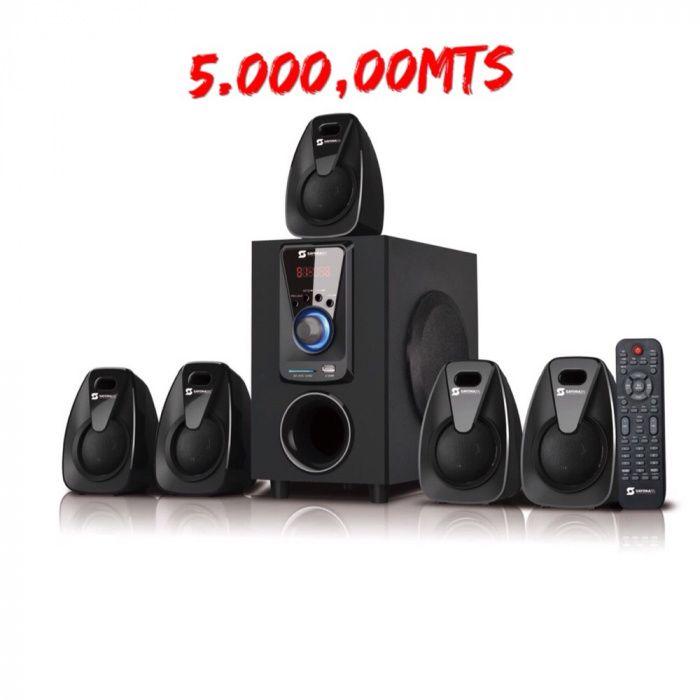 Home theater Sayona 1151 com boa qualidade de som : Bluetooth USB