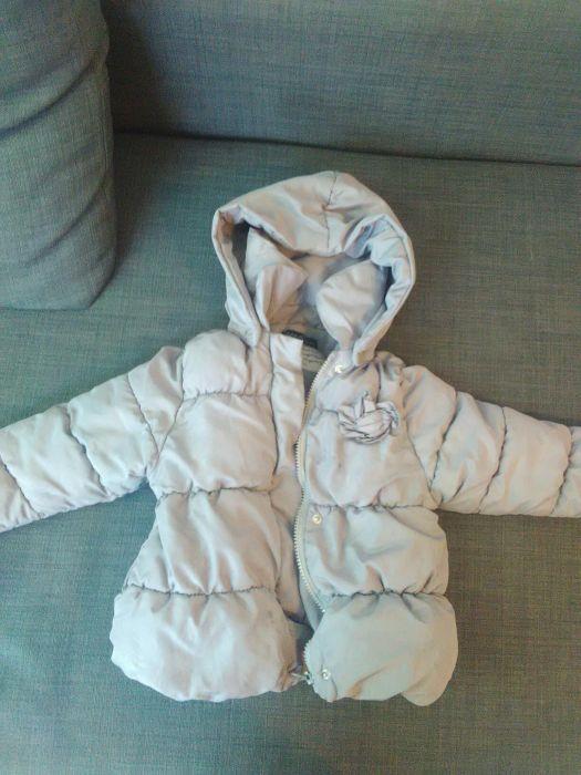 Зимно яке Zara 24-36 м. 94 см+ българско 92