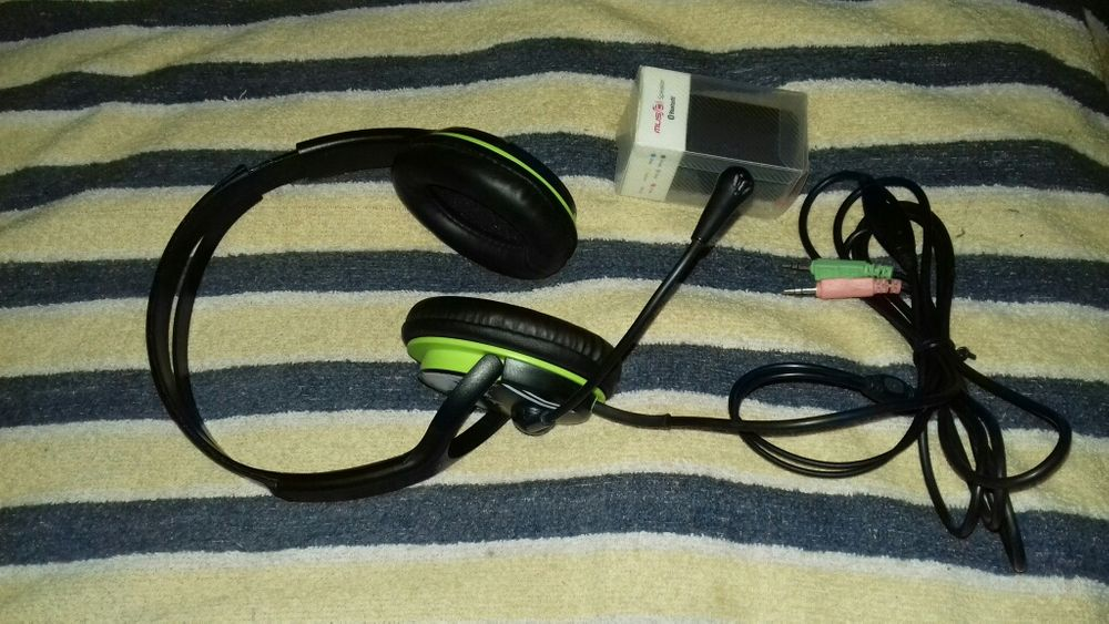 Miniboxa Bluetoth 3W;600mAh;5V;playback MP3-NOU si casti GENIUS HS400A