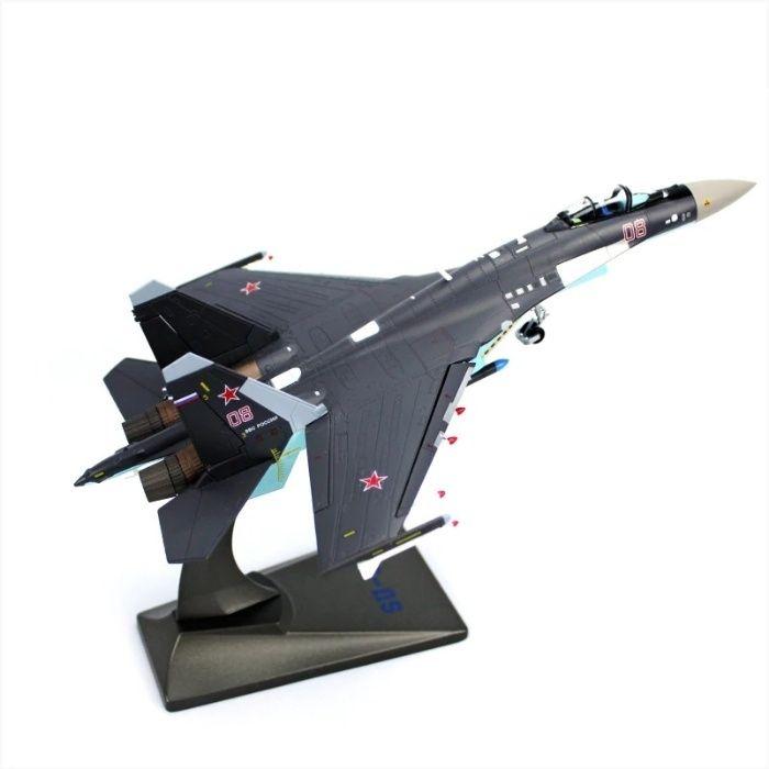 Модель самолета-истребителя СУ-35 ОКБ Сухого