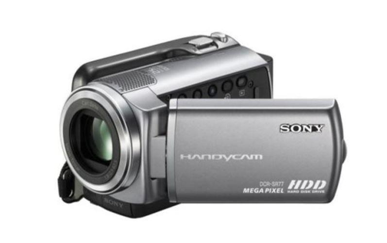 Sony DCR SR77 camera video cu hard 80GB