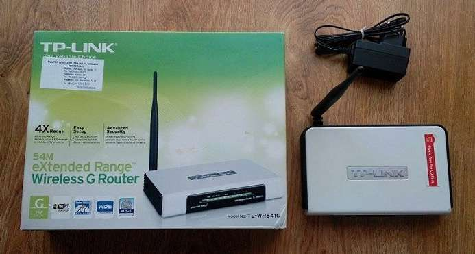 Router wireless TL-WR541G
