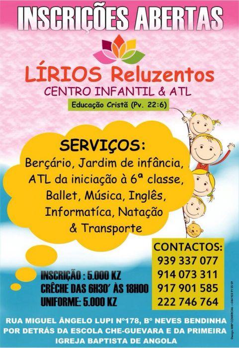 Centro Infantil Lírios Reluzentes - EDUCAÇÃO CRISTÃ