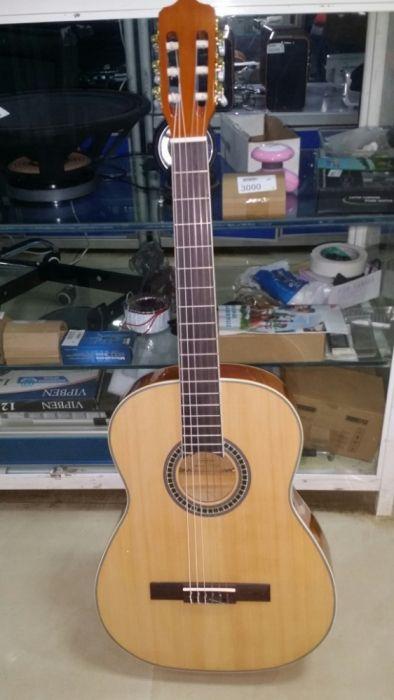 Guitarra nailo elétrica acústica