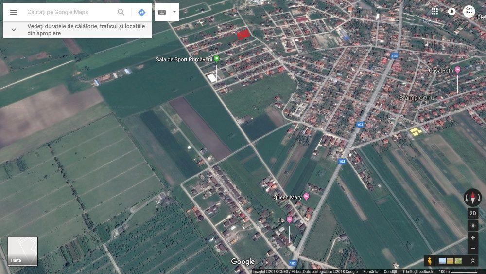 Vand teren 725m2 Sanpetru zona Str Primaverii