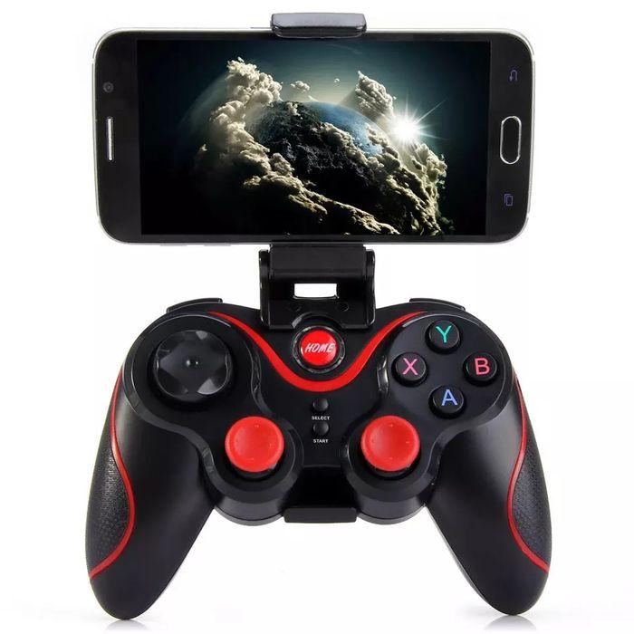 Joystick, gamepad Hidrido (manípulo para PC & Celular) sem fio