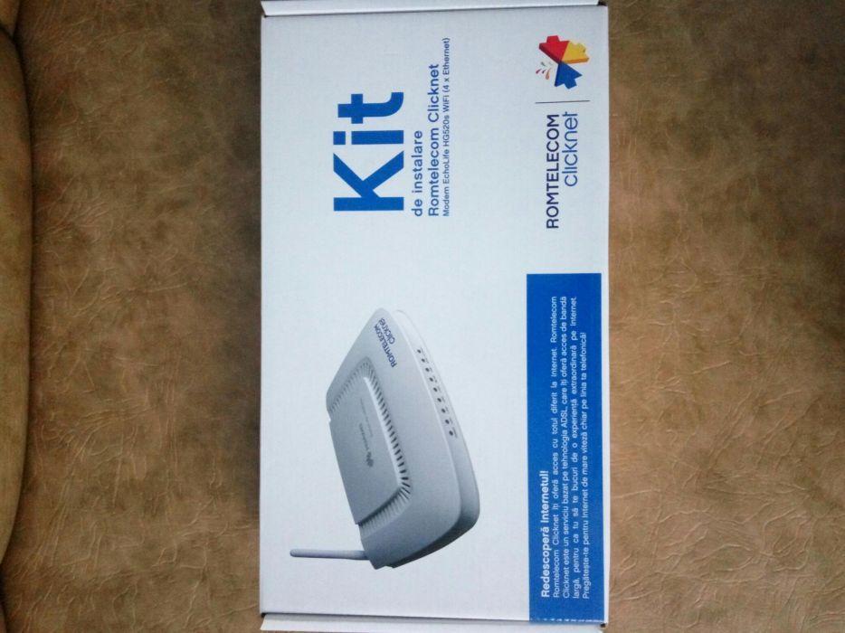 Vând kit de instalare Romtelecom clicknet