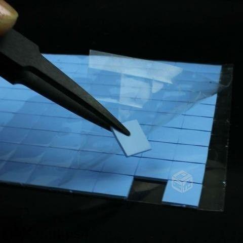 Термо подложки за охлаждане на лаптоп.