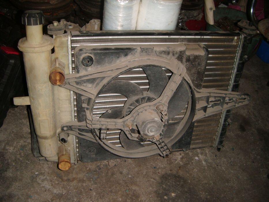 Воден Радиатор за Фиат Мареа,Брава,Браво 1.6 16в 103к.с. без климатик