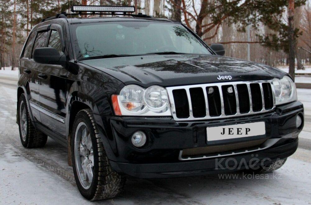 Защита фар на Jeep