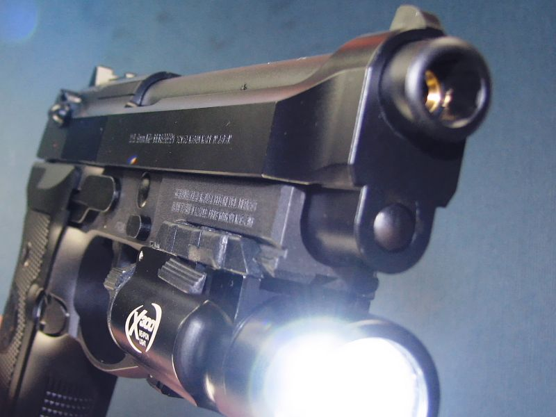 Pistol-MODIFICAT-Airsoft Co2 arma F.puternica Aer COMPRIMAT Full Metal