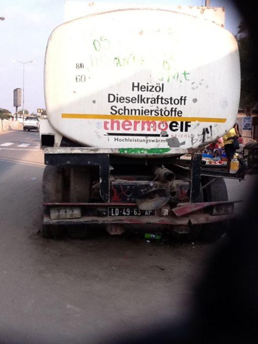 Renault Caminhão Pipa de Agua