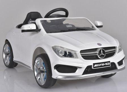Masinuta electrica pentru copii Mercedes CLA + factura + garantie Bucuresti - imagine 4