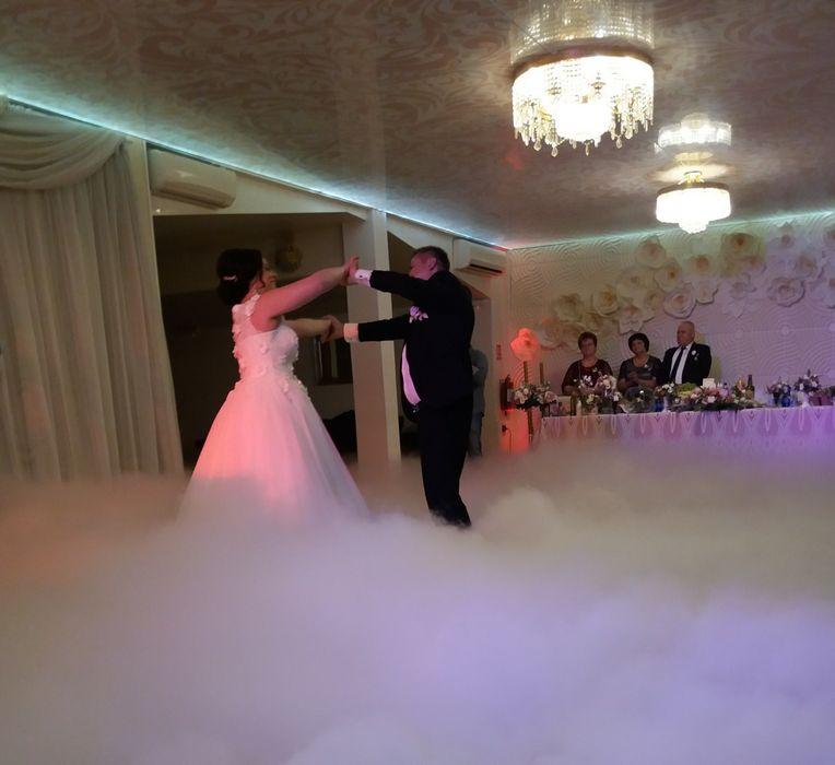 Masina fum greu cu gheata carbonica pentru dansul mirilor(Nunta,Nunti)