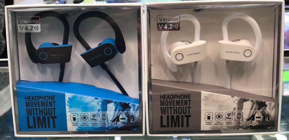 Auriculares Bluetooth Sport Bairro Central - imagem 1