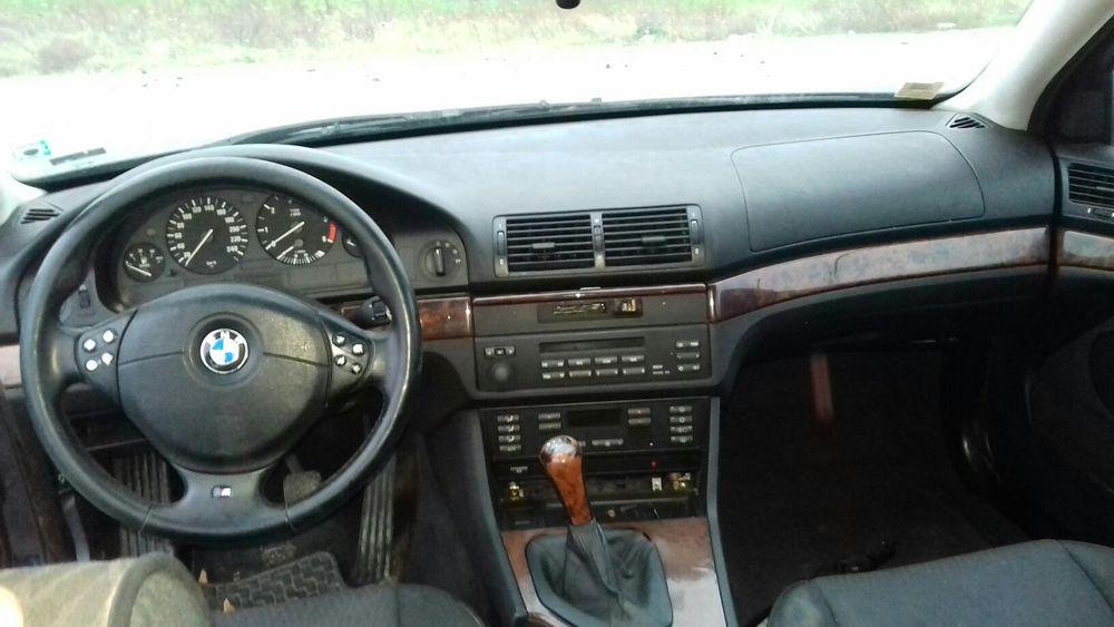 -=НА ЧАСТИ=- BMW 525 tds Бмв Е39 525 ТДС 1999 ръчка комби с. Равда - image 6