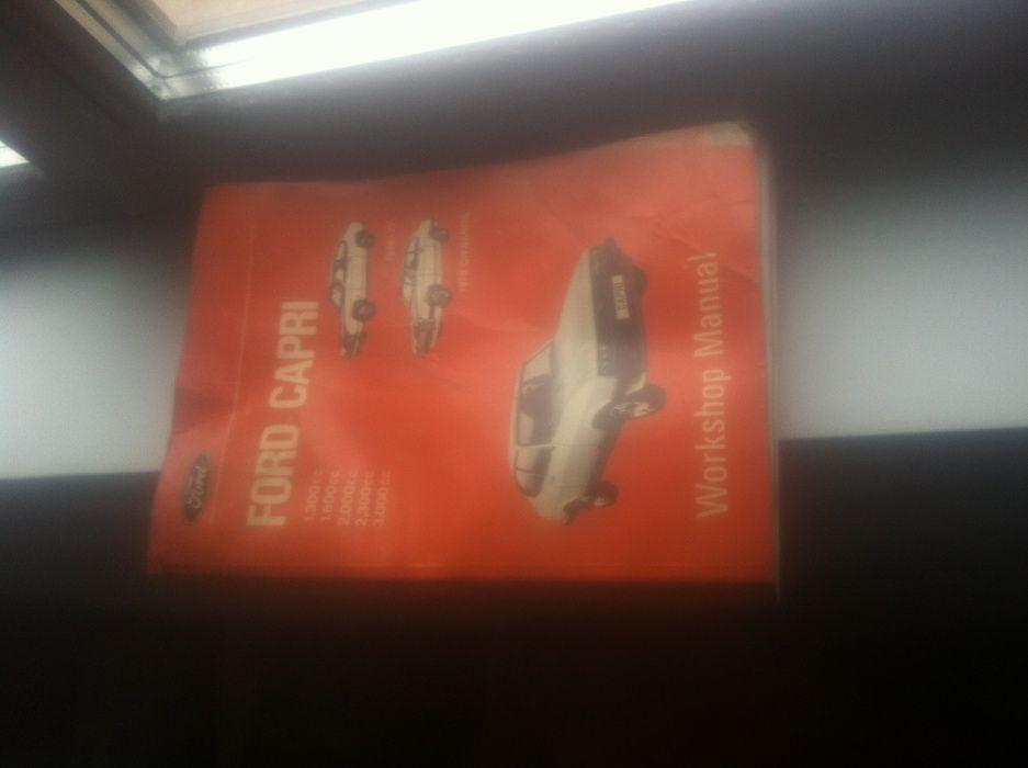 manual tehnic pentru ford capri