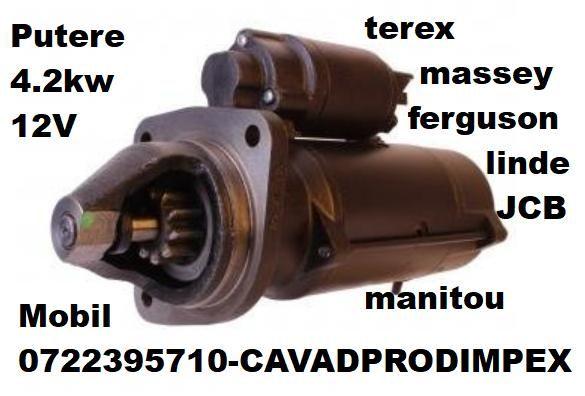 Electromotor putere 4.2kw Terex,JCB,Massey Ferguson,Linde,Manitou