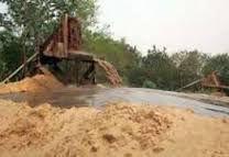 Distrito de Moamba: Areeiro 40 Hectares p/Exploracao