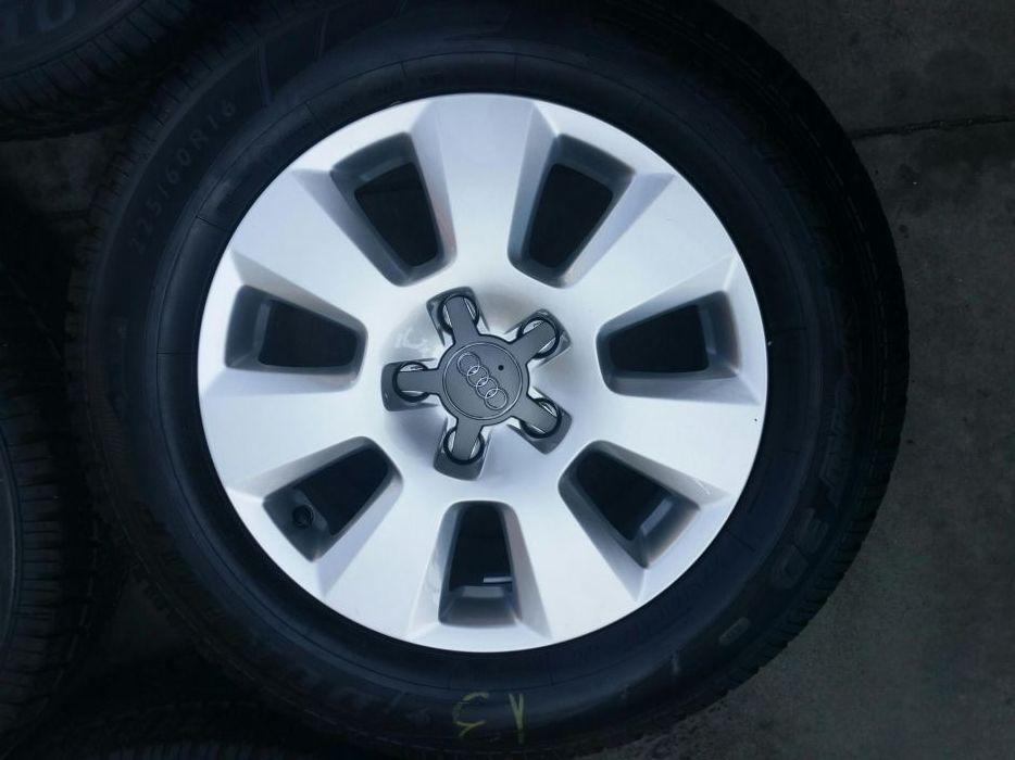 """Jante 16"""" Audi A6 4G cu anvelope de Iarna"""