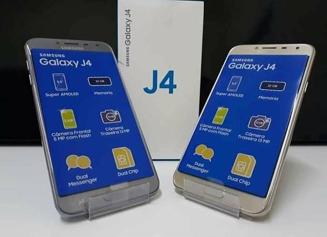 Samsung J4/2018/novos na caixa!