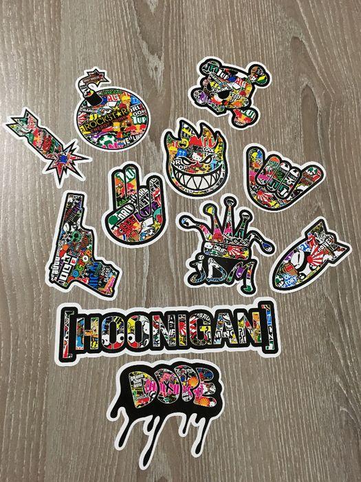 Стикери Sticker Бомб BOMB 13 бр. СУПЕР качествени PVC фолио стике гр. Стара Загора - image 7