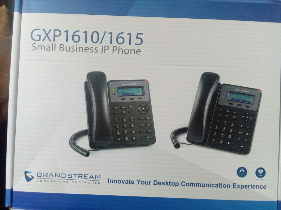 Telefones Voip(Cisco e Grandstream)