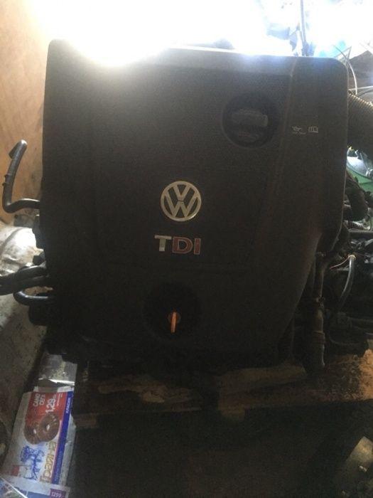 Vw golf 4 двигател помпа дюза 101кс AXR и кутия на части