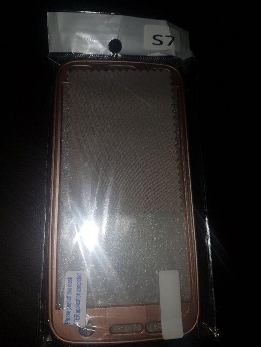 Vand husa rose gold Samsung S7 - cadou folie display