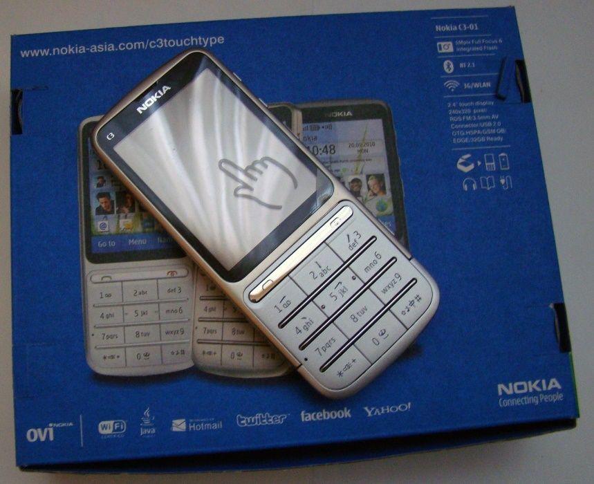 Nokia C3-01 3G wi-fi