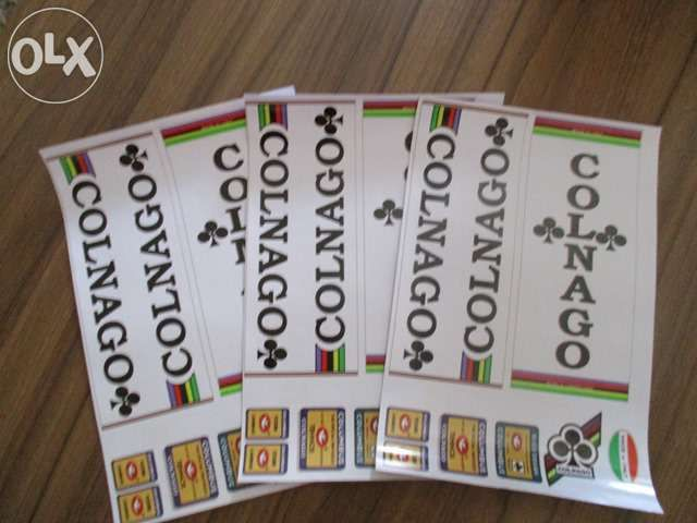Stickere Colnago - 3 bucati