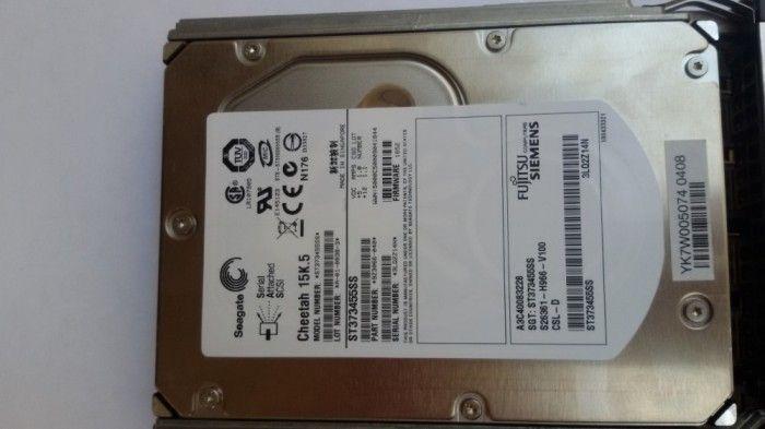Hard Disk Seagate, SAS, 73 gb, 15k, 3,5 inch