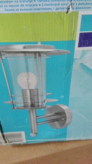 Декоративна лампа със сензор за движение