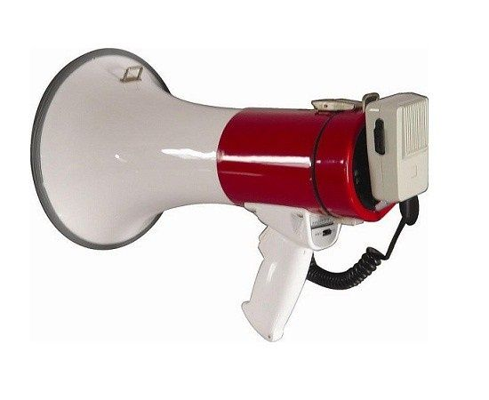 Portavoce megafon 50w, raza mare de acoperire