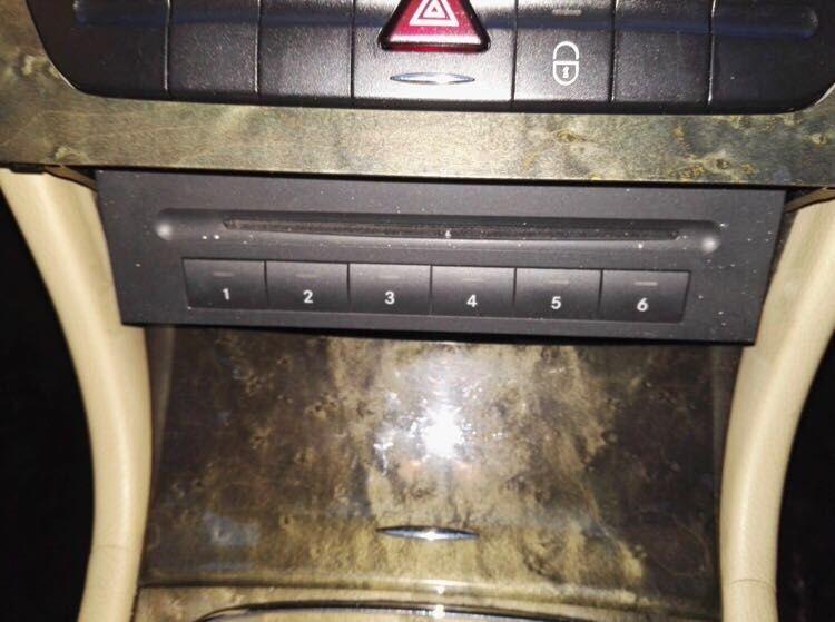 Magazie CD Mercedes E w211 CLS w219