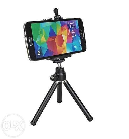 Suport telefon mobil + mini trepied universal Samsung S7 S8 iPhone 7 8