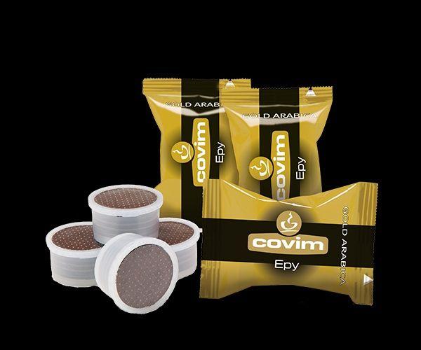 Cafea capsule Covim Gold Arabica set 50 buc. compatibile Lavazza Point