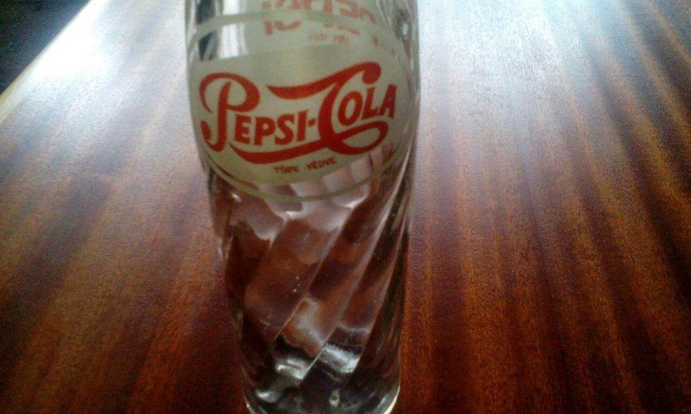 Pepsi cola бутилка шише