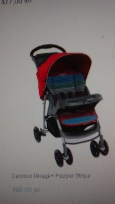 Carucior copii GRACO Mirage+ Pepper Stripe