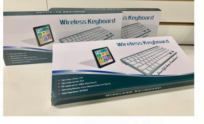 Mini teclado Bluetooth para iPad /tablets /celulares /Pc