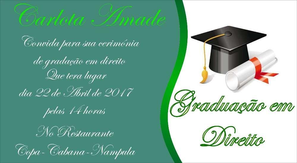 Convites para Graduação